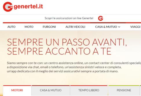 Genertel Assicurazioni Auto – RC Auto & Moto in un click