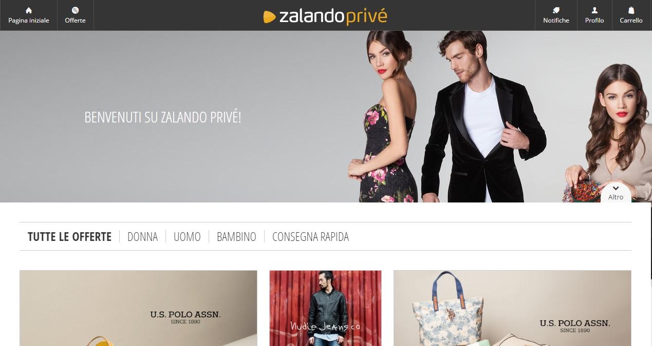 Zalando Privé – Le Vendite Private nella nuova scommessa di Zalando