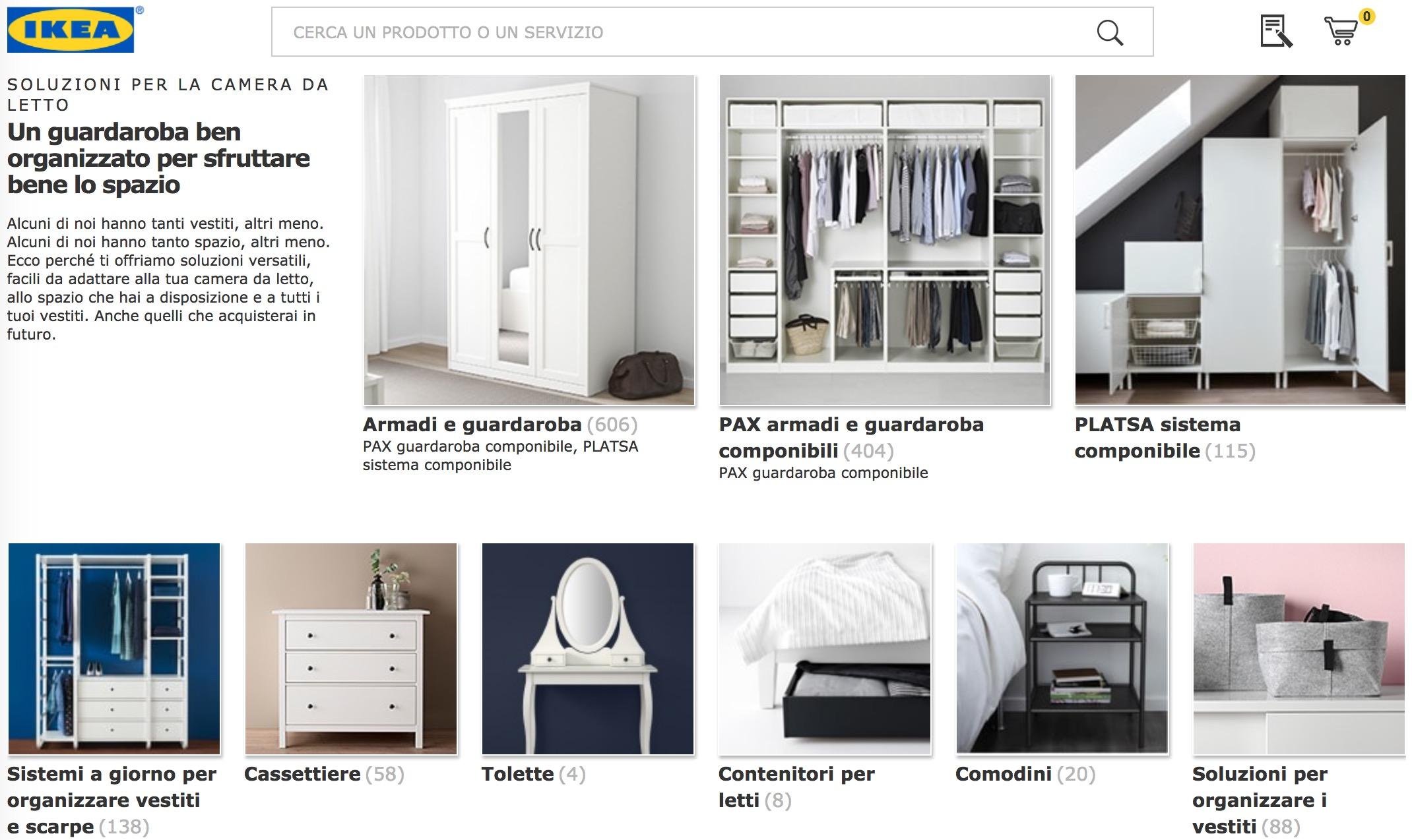 Ikea: il web store per mobili ed accessori